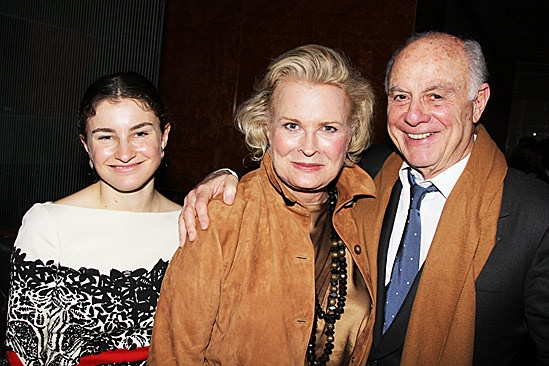 The Best Man – Opening Night – Chloe Malle – Candice Bergen – Marshall Rose