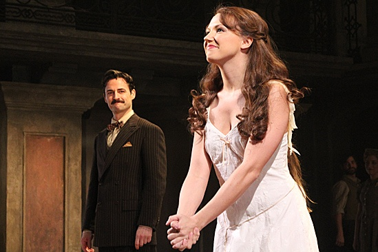 Evita  Opening  Max von Essen  Rachel Potter
