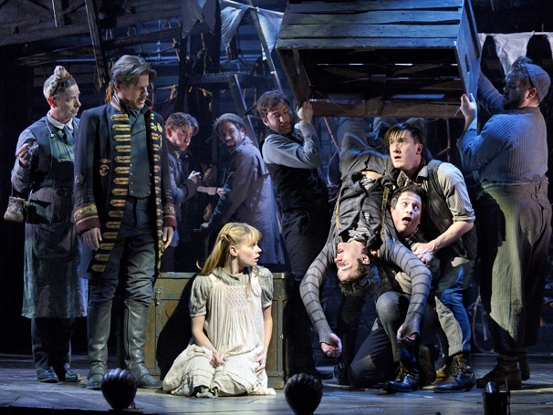 Show Photos - Peter and the Starcatcher - Celia Keenan-Bolger - Adam Chanler-Berat