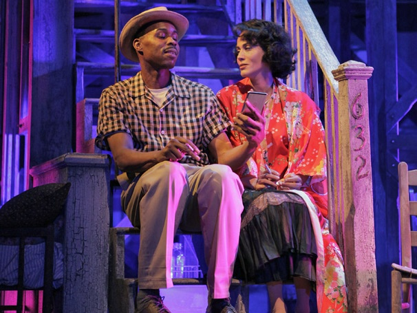 Show Photos - A Streetcar Named Desire - Wood Harris - Nicole Ari Parker
