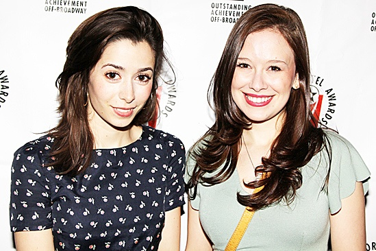 Lortel Reception- Cristin Milioti - Molly Ranson