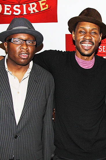 A Streetcar Named Desire opening night – Steve Harris – Wood Harris