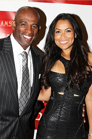 A Streetcar Named Desire opening night  Deion Sanders  Tracey Edmonds 
