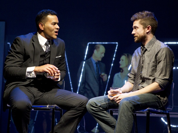 Show Photos - Lonely, I&#39;m Not - Christopher Jackson - Topher Grace