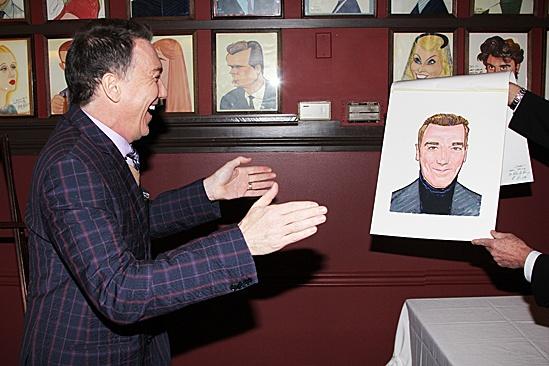 Patrick Page Sardi's Portrait – Patrick Page (unveiling)