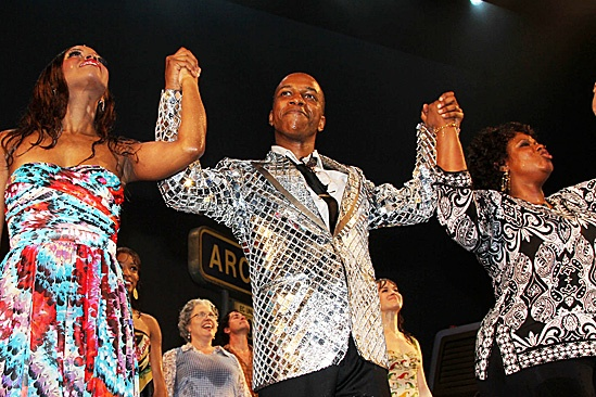 Leap of Faith Opening Night  Krystal Joy Brown  Leslie Odom, Jr. -  Kecia Lewis-Evans