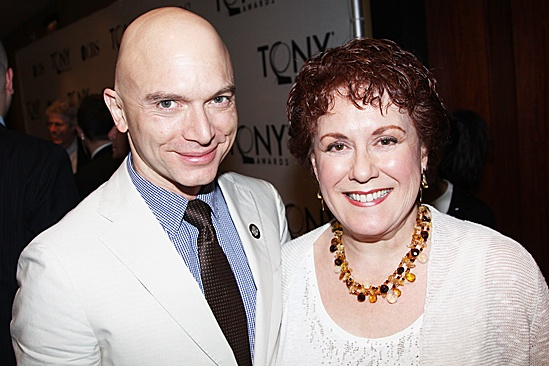 2012 Tony Brunch  Michael Cerveris  Judy Kaye