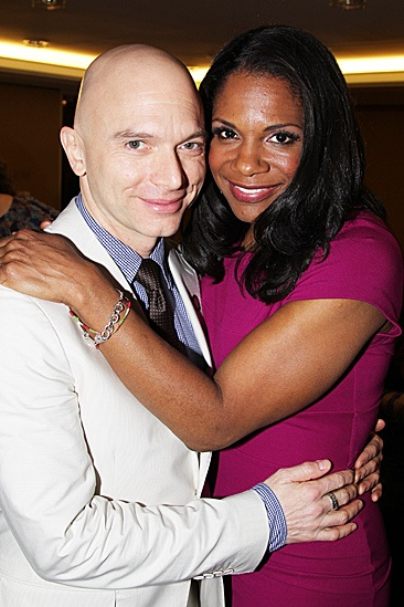 2012 Tony Brunch – Michael Cerveris – Audra McDonald