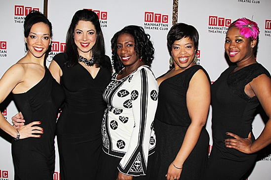 Manhattan Theatre Club – Spring Gala 2012 – Manoly Farrell – Lucia Giannetta – Virginia Ann Woodruff – Angela Grovey – Ta'Rea Campbell