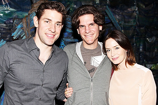 Blunt Krasinski at Starcatcher  John Krasinski  Alex Timbers - Emily Blunt