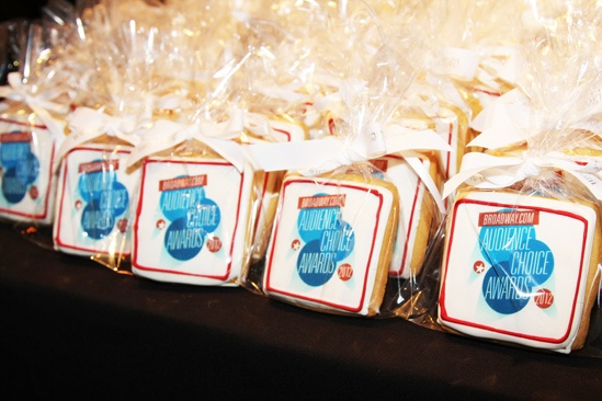 2012 Audience Choice Awards – Ceremony Photos – cookies