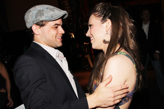 Audience Choice Awards- Jeremy Jordan- Laura Osnes