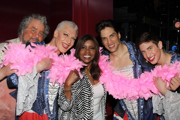 Priscilla Queen of the Desert- Adam Lefevre- Tony Sheldon - Gloria Gaynore- Will Swenson- Nick Adams