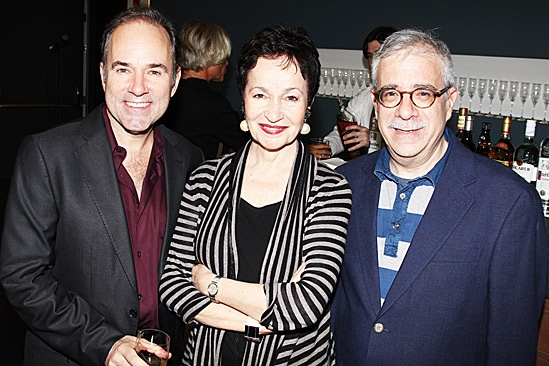 Claire Tow Theater Celebration- Stephen Flaherty- Lynn Ahrens- Ira Weitzman