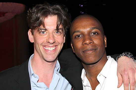 Drama League Awards 2012 – Bonus Photos – Christian Borle - Leslie Odom, Jr.