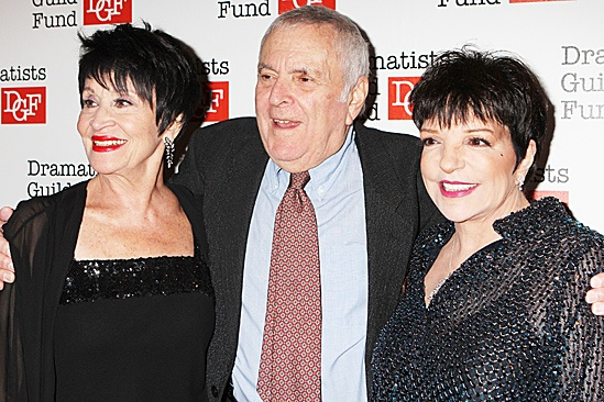 John Kander Dramatists Guild tribute – Chita Rivera – John Kander – Liza Minnelli