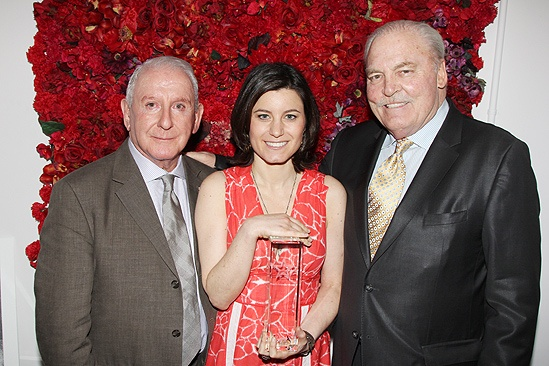 Theatre World Awards- Lionel Larner- Susan Pourfar- Stacy Keach