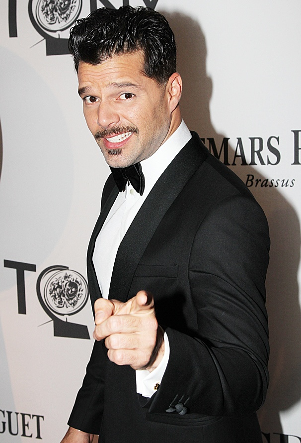 Tony Awards 2012  Hot Guys  Ricky Martin
