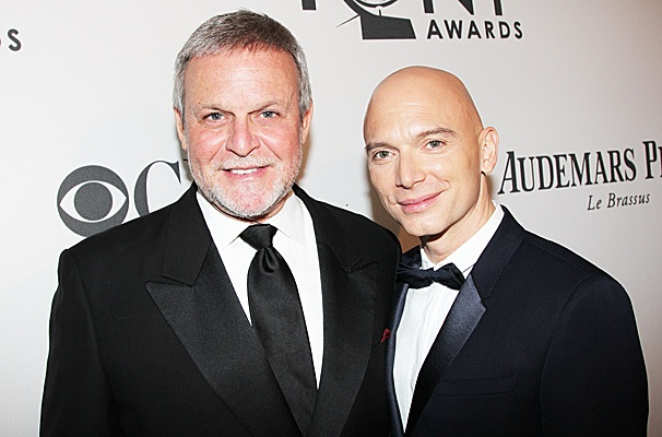 2012 Tony Award Best Pairs- Ron Raines – Michael Cerveris