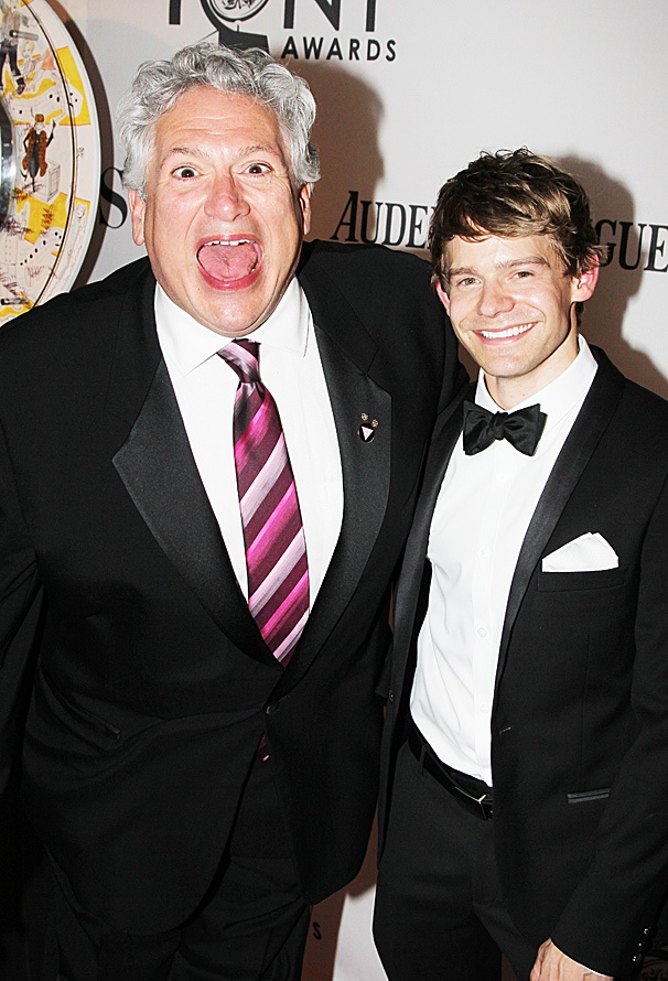 2012 Tony Award Best Pairs- Harvey Fierstein- Andrew Keenan-Bolger