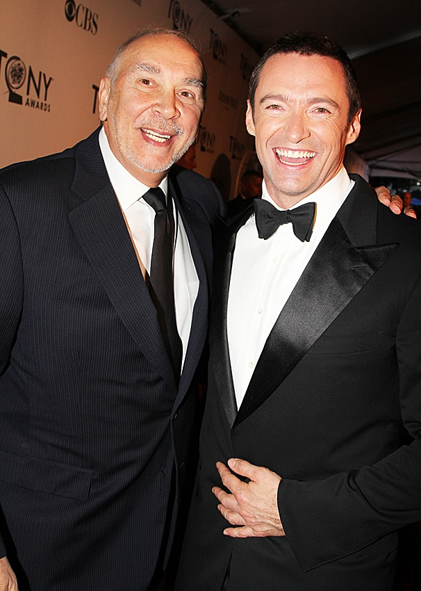 2012 Tony Legends  Frank Langella  Hugh Jackman