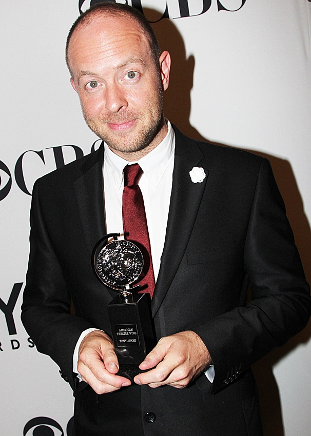 2012 Tony Awards Winner's Circle- John Tiffany