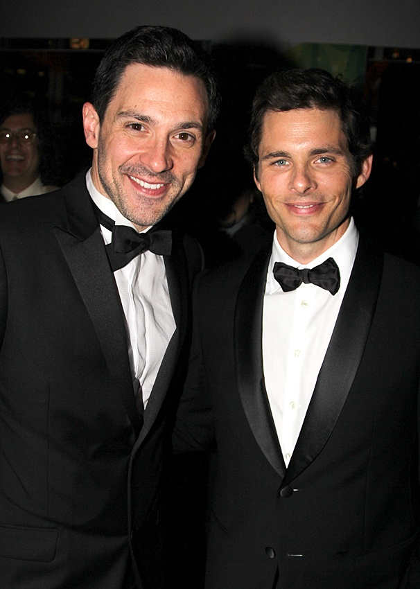 Once Tony party – Steve Kazee – James Marsden