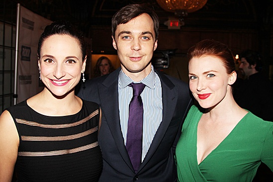 Harvey - Opening Night  Tracee Chimo  Jim Parsons  Holley Fain