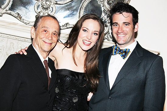 Laura Osnes at the Carlyle- Joel Grey - Laura Osnes- Colin Donnell