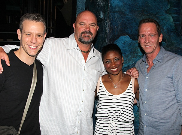 Memphis- Adam Pascal- David Wells- Montego Glover- David Cone