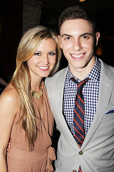 Dogfight Opening Night – girlfriend – Derek Klena