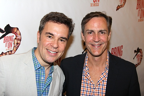 Bring It On Opening Night  Richard Samson - Howard McGillin