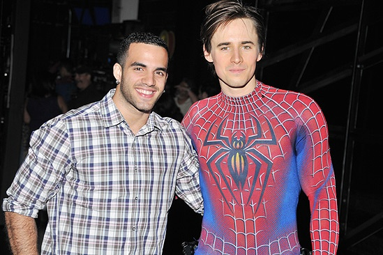 Spider-Man  Danell Leyva Visit  Reeve Carney