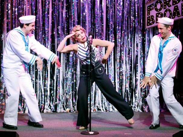 Show Photos - Forbidden Broadway: Alive & Kicking - Marcus Stevens - Jenny Lee Stern - Scott Richard Foster