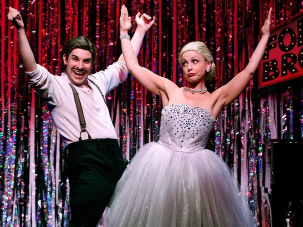 Show Photos - Forbidden Broadway: Alive & Kicking - Jenny Lee Stern - Marcus Stevens