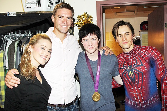 Pete Reed Visits Spider-Man  Pete Reed  Reeve Carney  Rebecca Faulkenberry  Matthew James Thomas