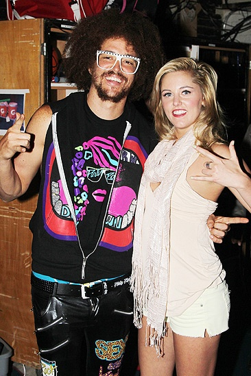 Berry Gordy and LMFAO at 'Bring It On' – Redfoo – Taylor Louderman