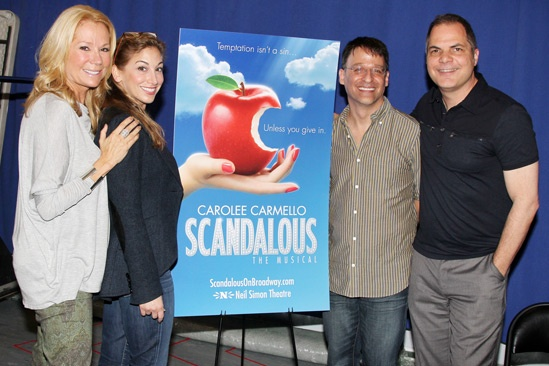 &#39;Scandalous&#39; Press Event - Kathie Lee Gifford - Lorin Latarro - Joel Fram - David Armstrong