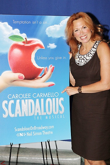 'Scandalous' Press Event — Carolee Carmello