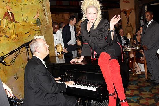 Kinky Boots- Fashion's Night Out- David Budway - Cyndi Lauper