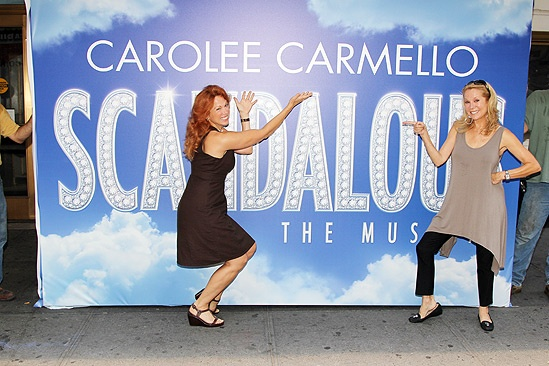 Scandalous MarqueeKathie Lee GiffordCarolee Carmello