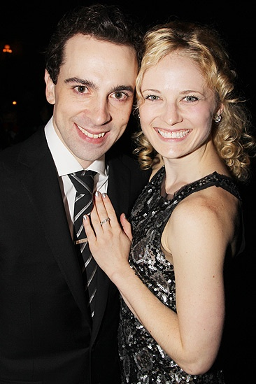 Chaplin  Opening Night  Rob McClure  Hayley Podschun
