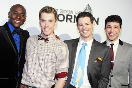 'Book of Mormon' LA Opening—Douglas Lyons—Daniel LeClaire—Jacob Ben Widmar—JR Bruno