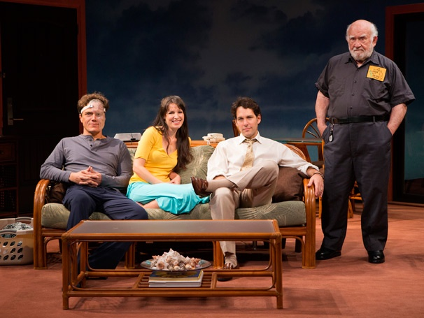 Show Photos - Grace - Michael Shannon - Kate Arrington - Paul Rudd - Ed Asner