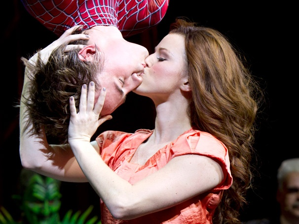 Show Photos - Spider-Man: Turn Off the Dark - Reeve Carney - Rebecca Faulkenberry