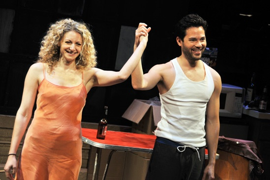 Marry Me a Little Opening Night  Lauren Molina  Jason Tam