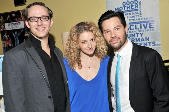 Marry Me a Little Opening Night  John Bell  Lauren Molina  Jason Tam