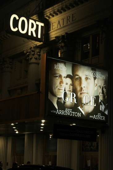 Grace  Opening Night  marquee