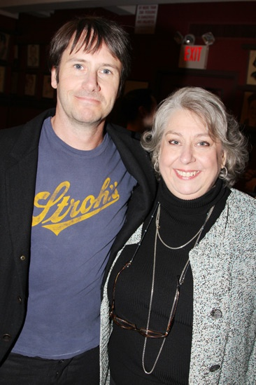 'Dead Accounts' Meet and Greet — Josh Hamilton — Jayne Houdyshell