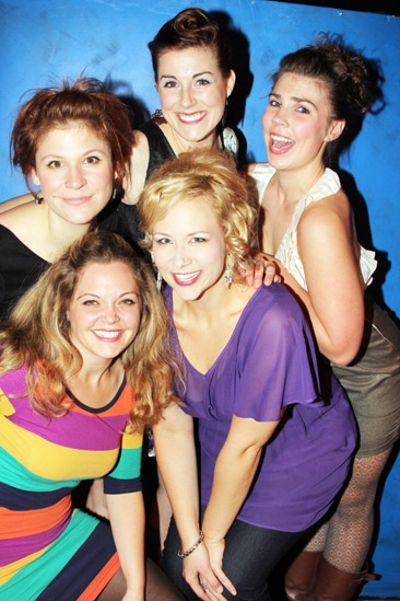'5 Lesbians Eating a Quiche' Opening Night — Thea Lux — Rachel Farmer — Maari Suorsa — Megan Johns — Caitlin Chuckta